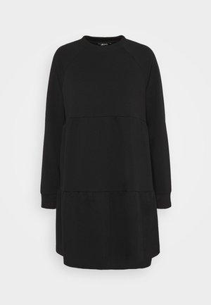 OSMA DRESS - Robe d'été - black dark unique