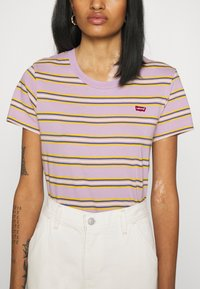 Levi's® - PERFECT TEE - T-shirt imprimé - borough lavender frost - 4