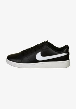 COURT ROYALE - Sneakersy niskie - black / white
