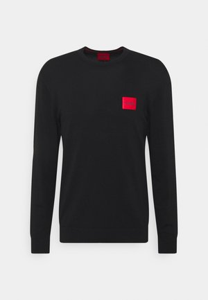 SAN CLAUDIO - Strickpullover - black