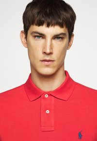 Polo Ralph Lauren - SLIM FIT MESH POLO SHIRT - Polo - evening post red - 3
