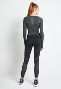 adidas Performance - HOW WE DO - Leggings - black - 3