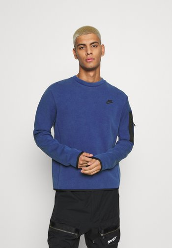 Sweatshirt - deep royal blue/black