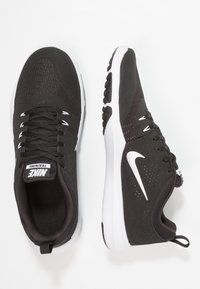 Nike Performance - LEGEND TRAINER - Sports shoes - black/metallic silver/white - 2