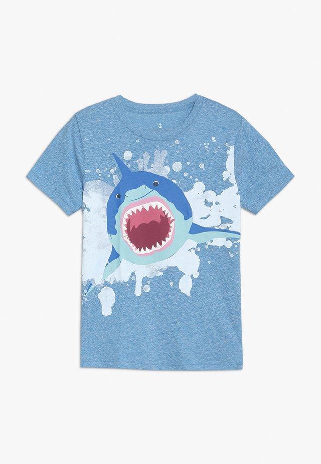 SHARK BRACES  - T-Shirt print - blue/multi