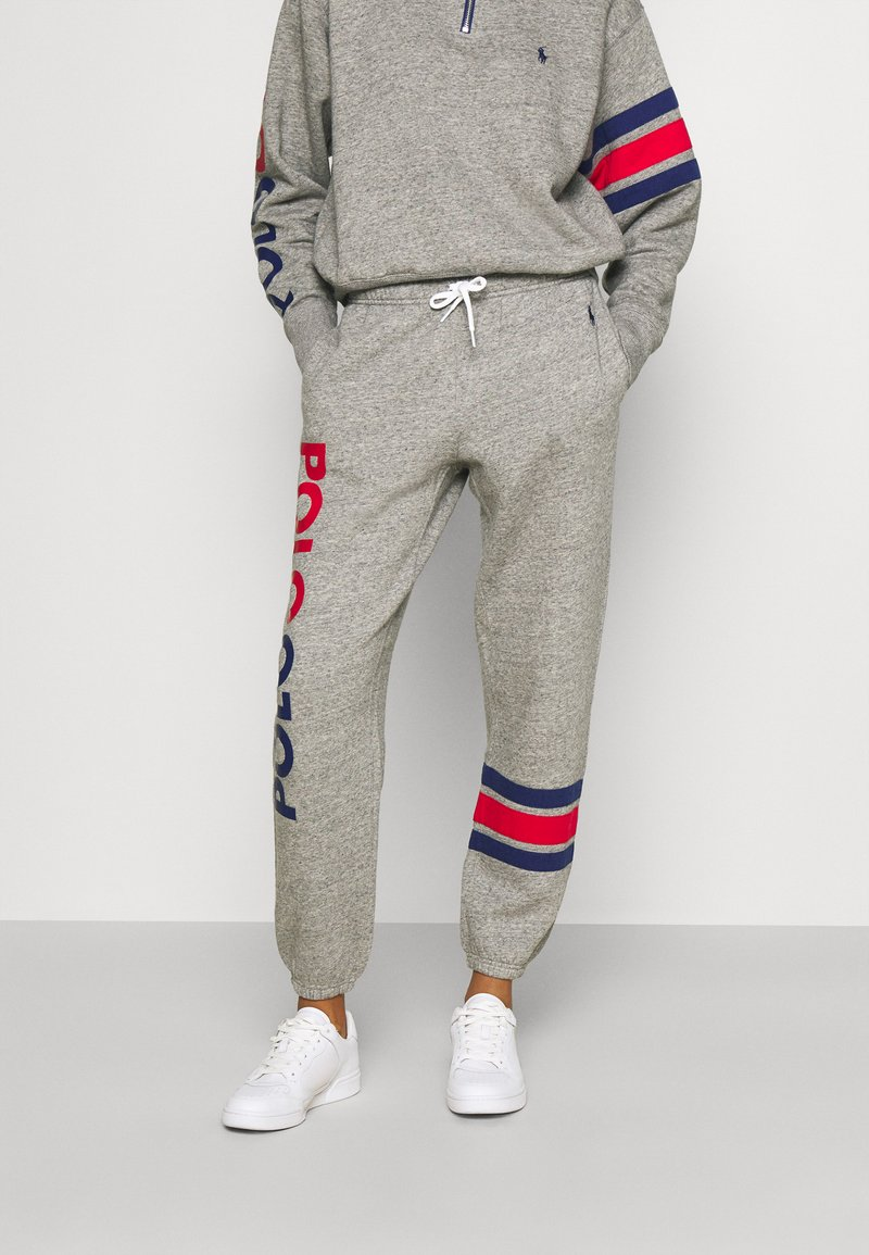 Polo Ralph Lauren - PANT ANKLE ATHLETIC - Spodnie treningowe - dark vintage heather