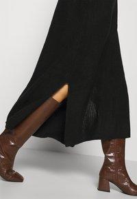 Monki - KEAN DRESS - Jumper dress - black dark - 3