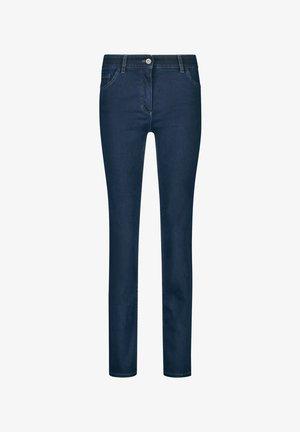 STRAIGHT FIT - Jeans Skinny Fit - dark blue denim