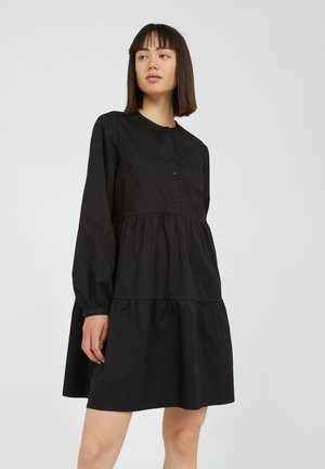 KOBENHAAVN - Shirt dress - black
