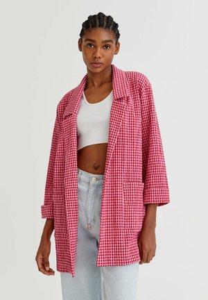 Short coat - mottled pink