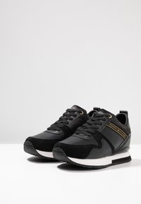 Tommy Hilfiger - WEDGE  - Trainers - black - 4