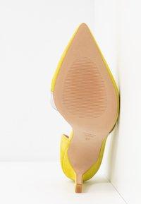 Zign - Zapatos altos - yellow - 6