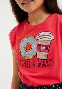 WE Fashion - T-shirt print - pink - 2