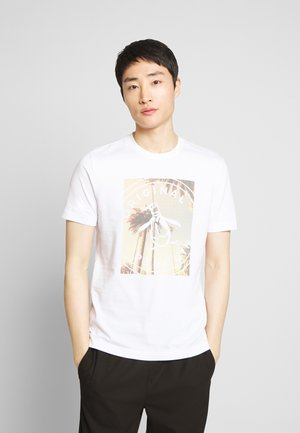 PHOTOFILL STAMP LOGO TEE - T-shirt print - bright white