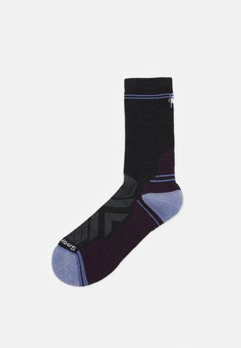 WOMENS PERFORMANCE HIKE LIGHT CUSHION CREW - Sports socks - charcoal