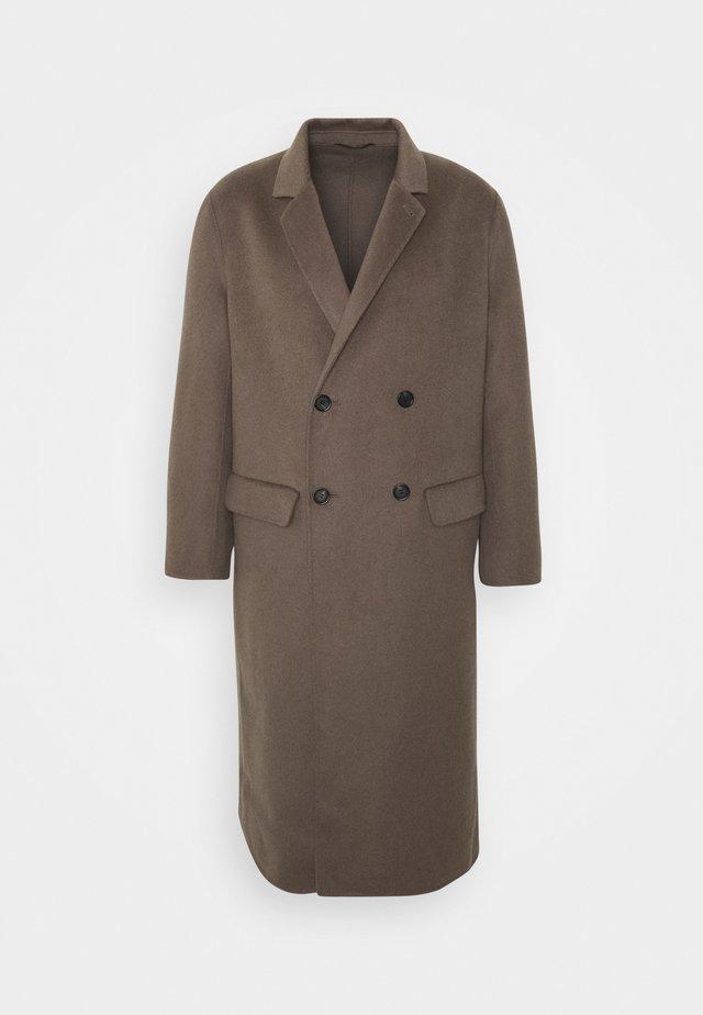 ATHENS COAT - Classic coat - dark taupe