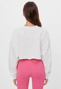 Bershka - Sweatshirt - white - 2