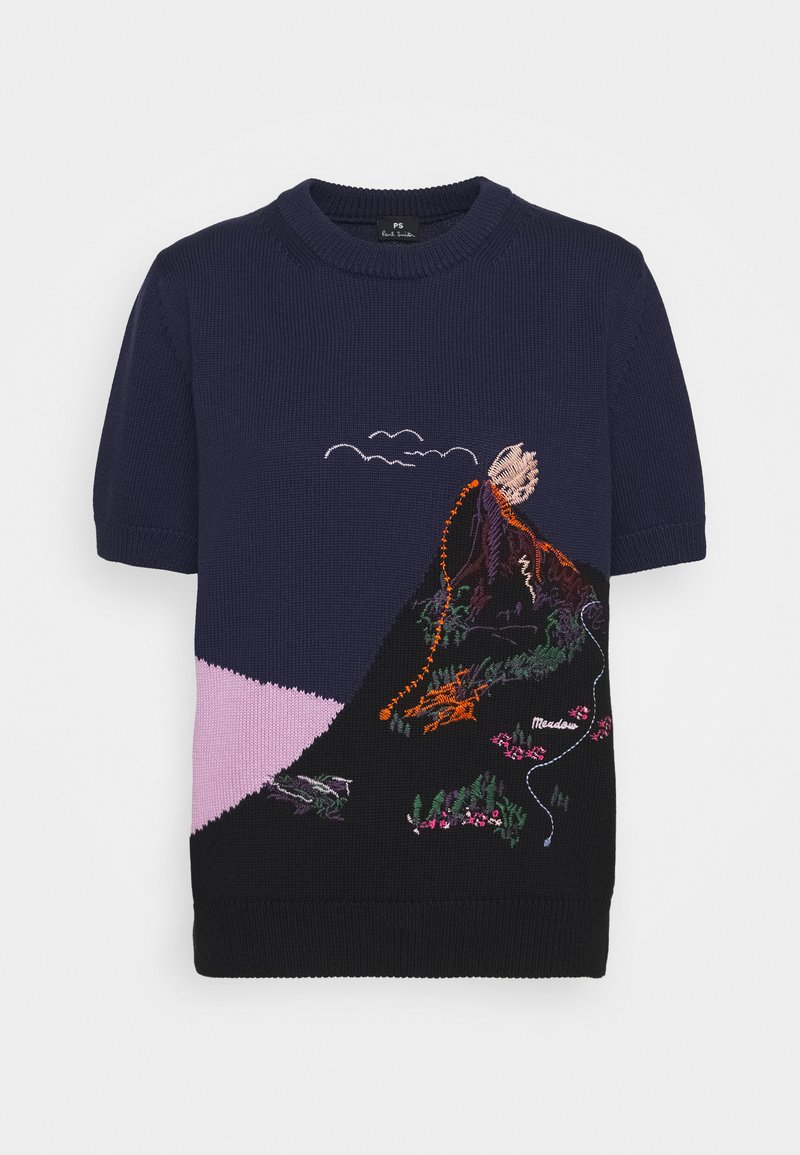 PS Paul Smith - T-shirt con stampa - blue