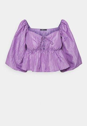 BEATRIX BLOUSE - Pitkähihainen paita - purple