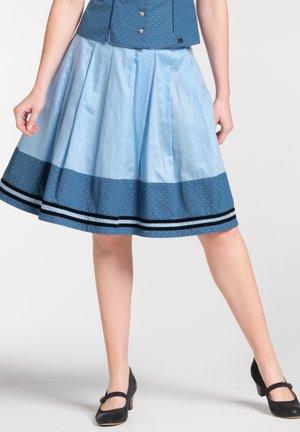 NALANI - A-line skirt - blue