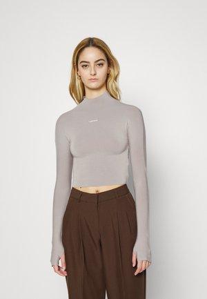 LACEY LONGSLEEVE - Long sleeved top - warm grey