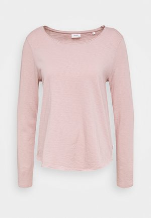 LONG SLEEVE CREW NECK REGULAR FIT - Long sleeved top - faded pink