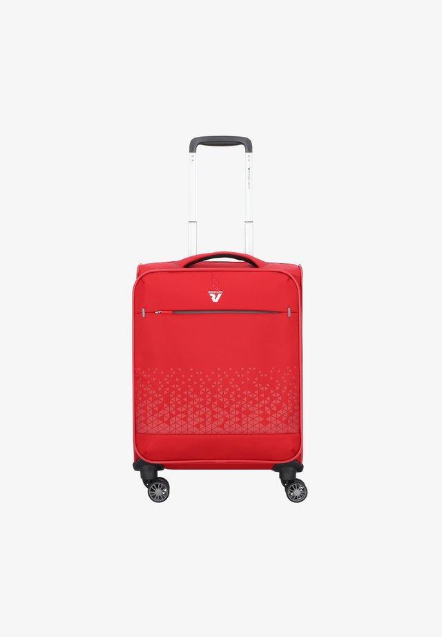 CROSSLITE 4-ROLLEN  - Wheeled suitcase - rosso