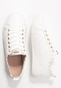 ONLY SHOES - ONLSUNNY SCALOP - Sneakers laag - white - 3