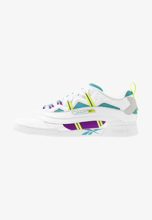 WORKOUT PLUS 3.0 SHOES - Trainers - white/regal purple/skull grey