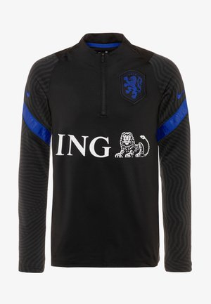 NIEDERLANDE STRIKE DRY  - Club wear - black/bright blue