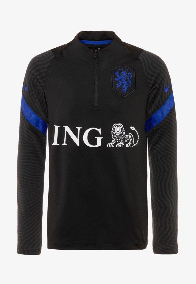 NIEDERLANDE STRIKE DRY  - Fanartikel - black/bright blue