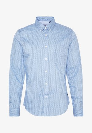 SHELL PRINT - Overhemd - clear blue