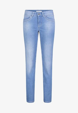 ANGELA - Slim fit jeans - light blue