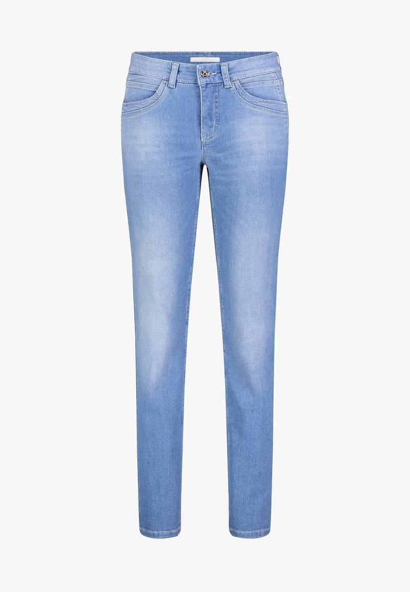 MAC Jeans - ANGELA - Slim fit jeans - light blue