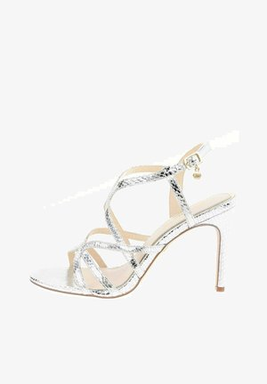 TASCENO  - High heeled sandals - silver