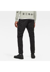 G-Star - ROXIC STRAIGHT TAPERED - Cargo trousers - dk black gd - 1
