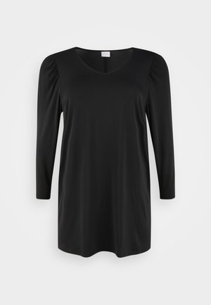 VIEBONI DRESS - Žerzejové šaty - black