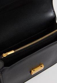 Gina Tricot - JOLINE BAG - Across body bag - black/antique gold - 3