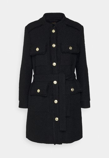 GAMON - Classic coat - noir
