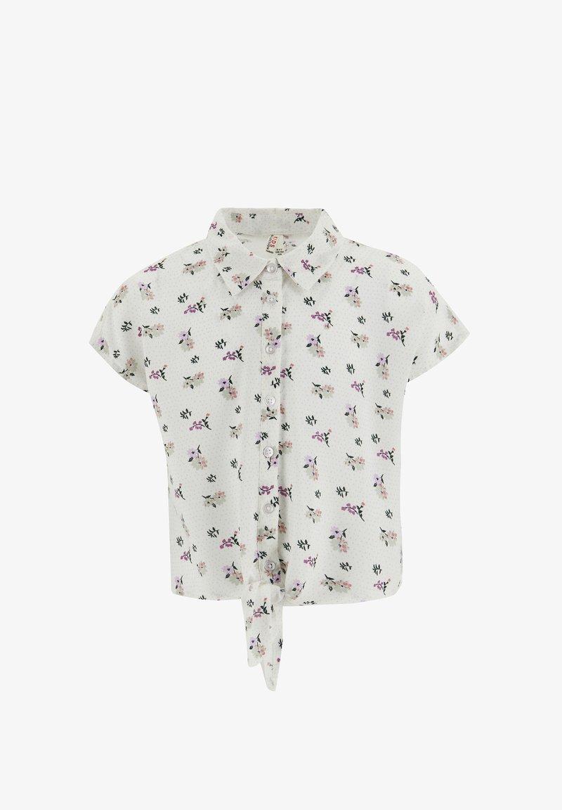 DeFacto - Button-down blouse - grey