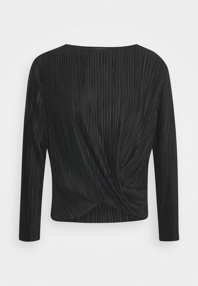 KUSMISSA - Camiseta de manga larga - black