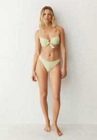 Mango - Bikiniunderdel - limoen - 1