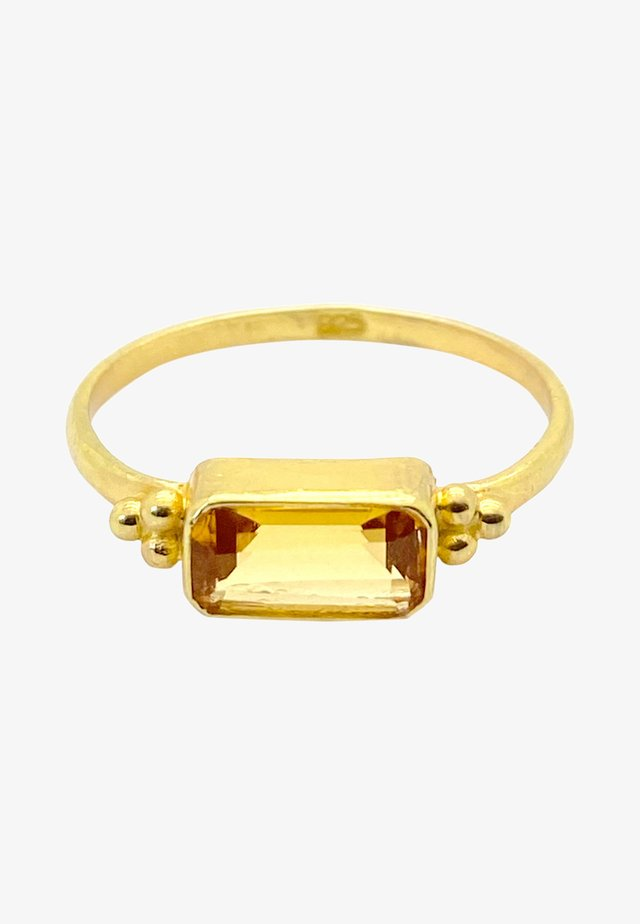 Ring - gold orange