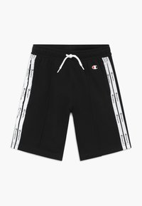 Champion - LEGACY AMERICAN TAPE BERMUDA - Sports shorts - black - 0