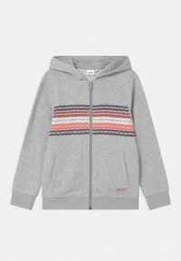 BOSS Kidswear - Zip-up sweatshirt - grey - 0