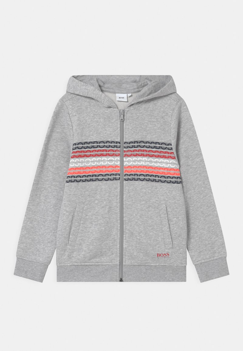 BOSS Kidswear - Zip-up sweatshirt - grey