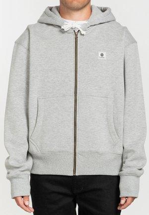 Zip-up hoodie - grey heather