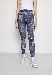 Nike Sportswear - Legging - black/concord - 0