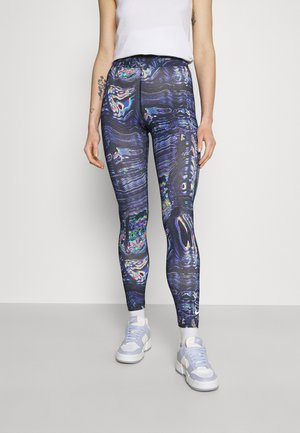 Leggings - Trousers - black/concord