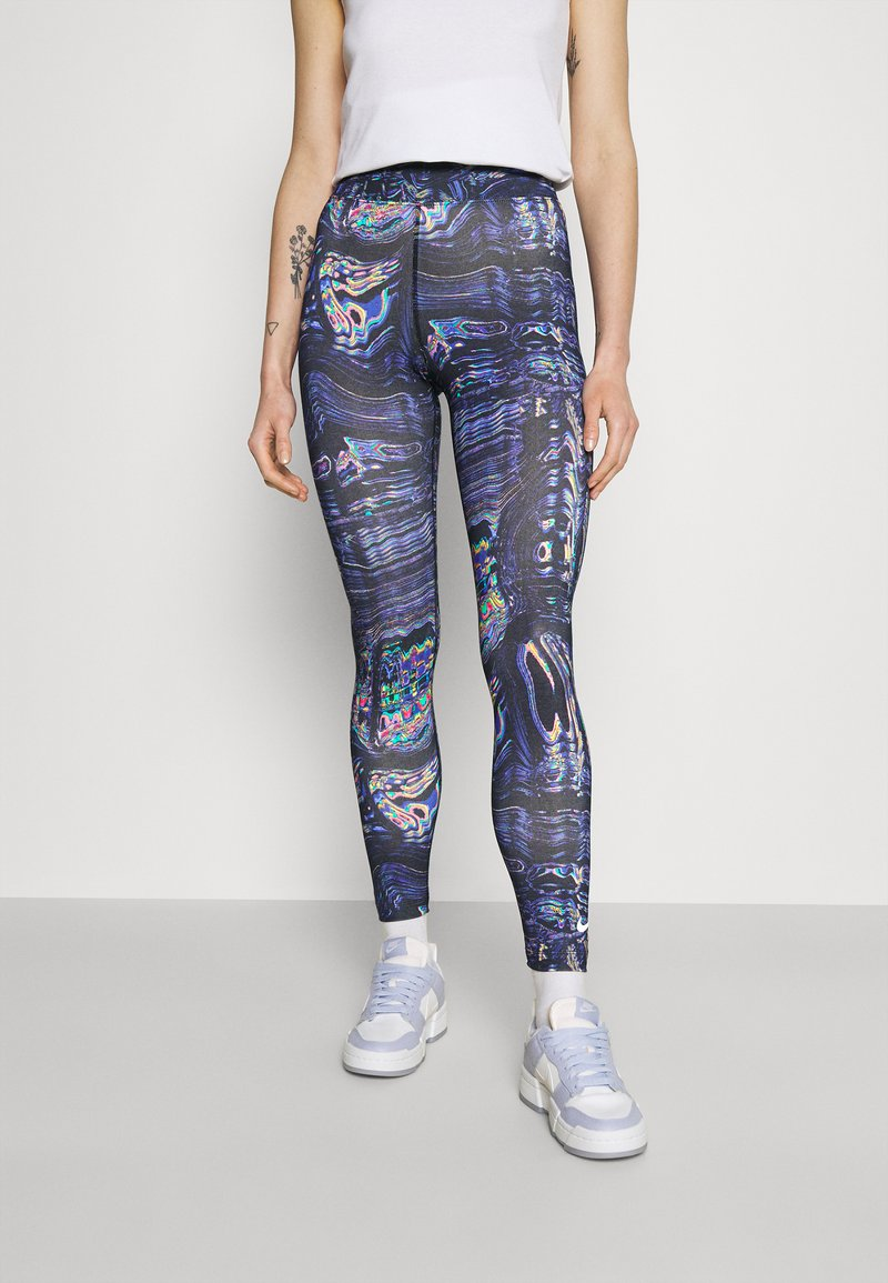 Nike Sportswear - Legging - black/concord